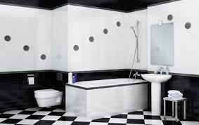 Black And White Bathroom Ideas Designs And Decor - Bathroom designs black and white