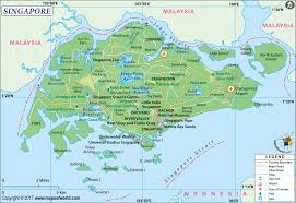 Blank Map Of Singapore by Large Singapore Map Image Large Singapore Map Hd Picture