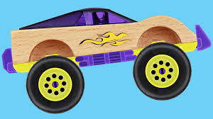 toddler monster truck videos atomic rider monster truck teaching numbers 1 to 10 learning to