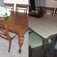 Repurpose Dining Room by This Is A Fabulous Dining Room Table Transformation Using Dixie