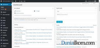 cara membuat halaman utama web dengan php cara login ke halaman admin wordpress duniailkom