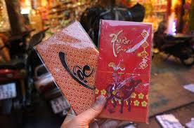 tet envelopes the souvenirs featuring tet news vietnamnet