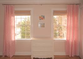 Pink Nursery Curtains by No Sew Nursery Curtains Ocean Front Shack