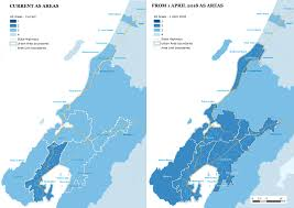Urban Map Accommodation Supplement Urban Areas North Island Ministry Of
