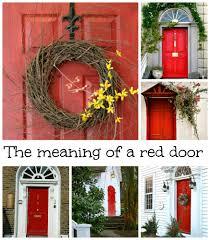 Front Door Red by Front Doors Beautiful Red Front Door Meaning 57 Painting Front
