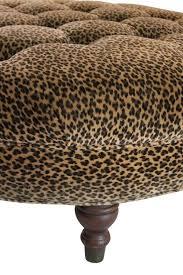 Animal Print Ottomans Leopard Print Ottoman On Chairish Leopard Prints Pinterest