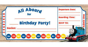 train ticket invitation template 9 train birthday invitations for