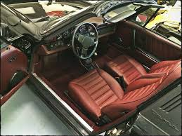 porsche targa 1980 1982 porsche 911 sc targa interior restoration leather seats