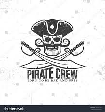 jolly roger tattoo pirate skull mustache stock vector 549441139
