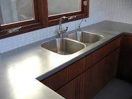 stainless steel countertop with built in sink stainless steel sink countertop befon for