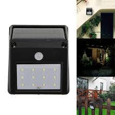 wireless sensor lights outdoor sale waterproof 12led solar powered wireless pir motion sensor