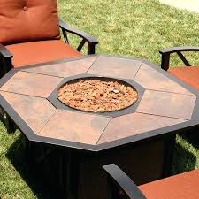 Gas Patio Table Patio Furniture Pit Table Set Fineartist Info