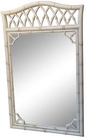 Chippendale Bedroom Furniture Thomasville Vintage Thomasville Faux Bamboo Mirror On Chairish Com Beach
