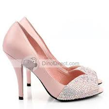 wedding shoes high honey girl women rhinestone peep toe high heel wedding shoes