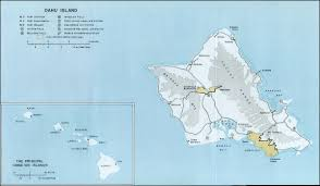 Hawaii World Map Arizona Memorial Pearl Harbour Hawaii United States Of After The
