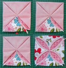 this is great cathedral window pincushion tutorial moda bake