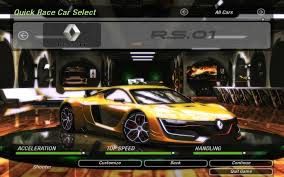 renault rs01 need for speed underground 2 cars by renault nfscars