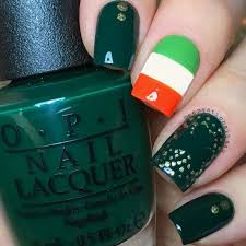 strike gold with these stellar st patty u0027s day themed nail art