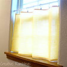 dish towel to cafe curtain creative ramblings