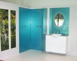 shower splash panels bq showers decoration bathroom vanity splashback ideas