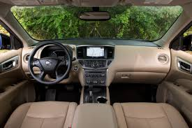 nissan pathfinder 2016 interior 2017 nissan pathfinder our review cars com