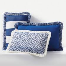 outdoor lumbar pillow with fringe frontgate
