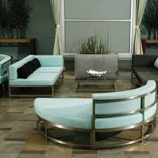 Unique Patio Furniture by Modern Patio Furniture With Chic Treatment For Fancy House Traba