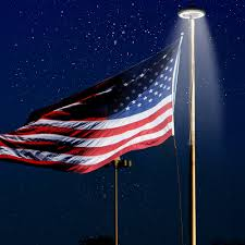 Flag Pole Lights Solar Powered Solar Flag Pole Light Flagpole Solar Lighting 26led Solar Powered