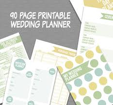 wedding diary printable wedding planner plan your wedding engagement planner