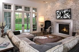 Family Room With Sectional Sofa Sectional Sofa Set And Ottoman Table For Family Room Furniture