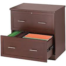 Wooden Lateral File Cabinets Staples Wood Lateral File Cabinet 2 Drawer Light Mahogany