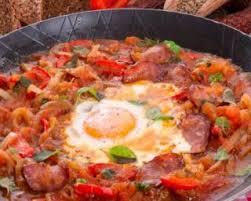cuisine minceur recette de ratatouille minceur œuf et chorizo à l orientale