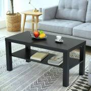 Black Modern Living Room Furniture by Coffee Table With Storage