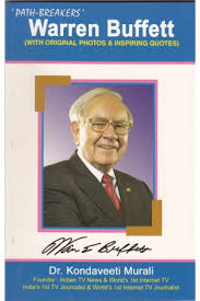 warren buffett warren buffett by kondaveeti murali warren