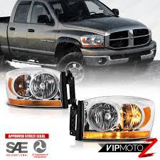 2006 dodge ram 2500 headlight bulb 2006 dodge ram 1500 bar model chrome headlights ls 2006