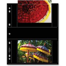 archival photo album print file blk 46 4s archival album pages 25 pack 060 0777 b h