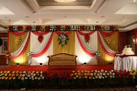 glamorous indian wedding decorations at home photos concept