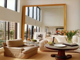Mirrors In Living Room Large Mirror In Living Room Decorating Living Room Ideas