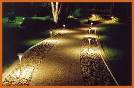 the best landscape lighting the best outdoor wired landscape lighting kits walkway solar led for