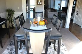 Paint Dining Room Table Dining Table Makeover With Chalk Paint Our Real