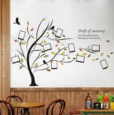 honana dx 131 90x60cm creative photo frame tree wall stickers honana dx 131 90x60cm creative photo frame tree wall stickers bedroom home decoration