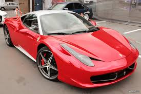 chrome ferrari to stand out red chrome ferrari 458 italia