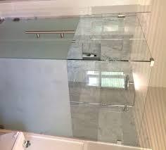 custom glass shower installations koonse glass company