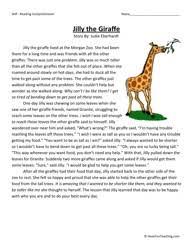 reading lessons for 3rd grade third grade reading comprehension worksheet jilly the giraffe