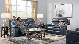 Blue Leather Sectional Sofa Leather Living Room Sets U0026 Furniture Suites