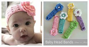 crochet band diy crochet baby band usefuldiy