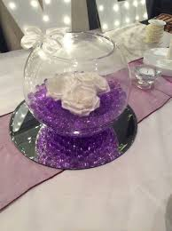 fish bowl centerpieces fish bowl wedding decorations