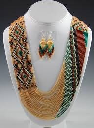 indian beaded necklace images Navajo beaded necklace navajo necklace rena charles sedona jpg