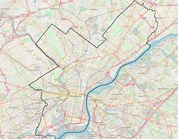 Map Of Pennsylvania University Of Pennsylvania Campus Historic District Wikipedia