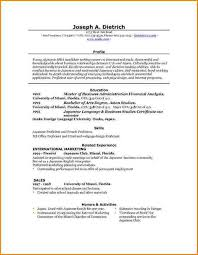Free Download Resume Templates For Microsoft Word 11 Student Resume Template Microsoft Word Skills Based Resume